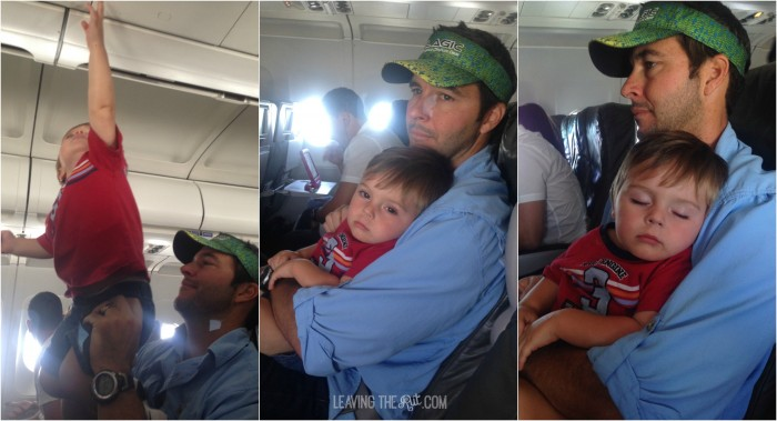 Tips for flying with kids not sleeping