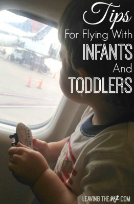 Tips for flying with your infant or toddler