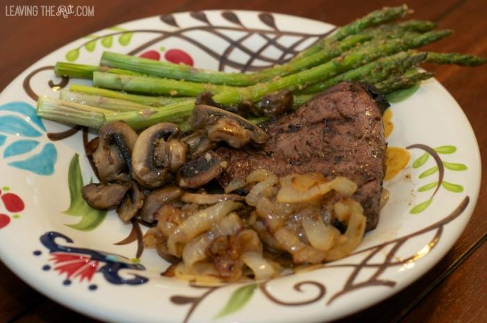 Easy Marinades Steak plated