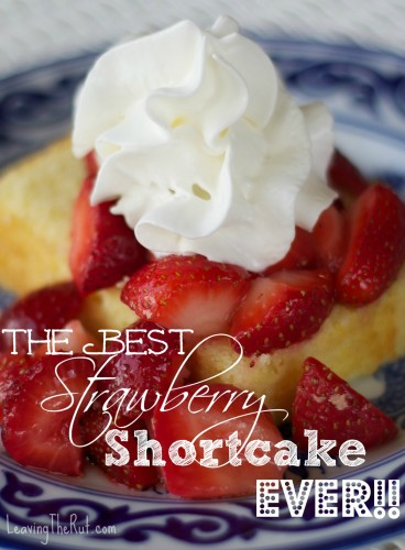The Best Strawberry Shortcake EVER!!