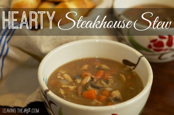 Hearty Steakhouse Stew FB