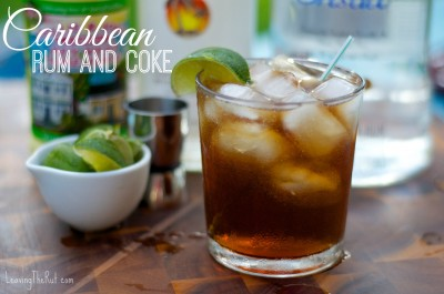 Caribbean Rum and Coke at the Friday Afternoon Happy Hour