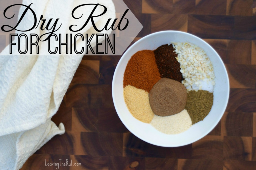 Dry Rub for Chicken Cover