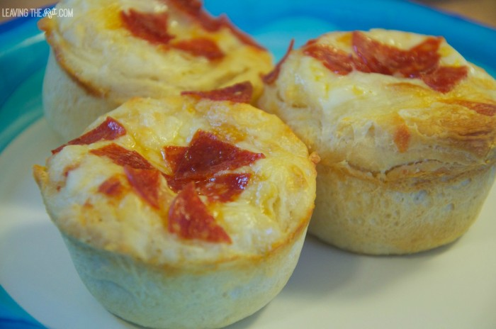 Mini Pizza muffins
