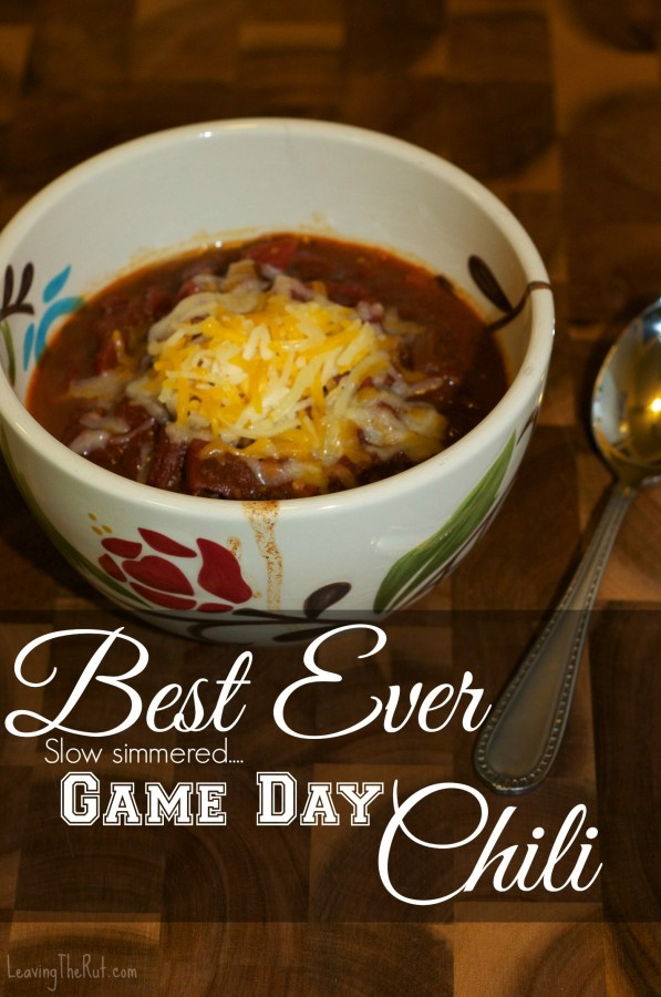Best Ever Game Day Chili pin2