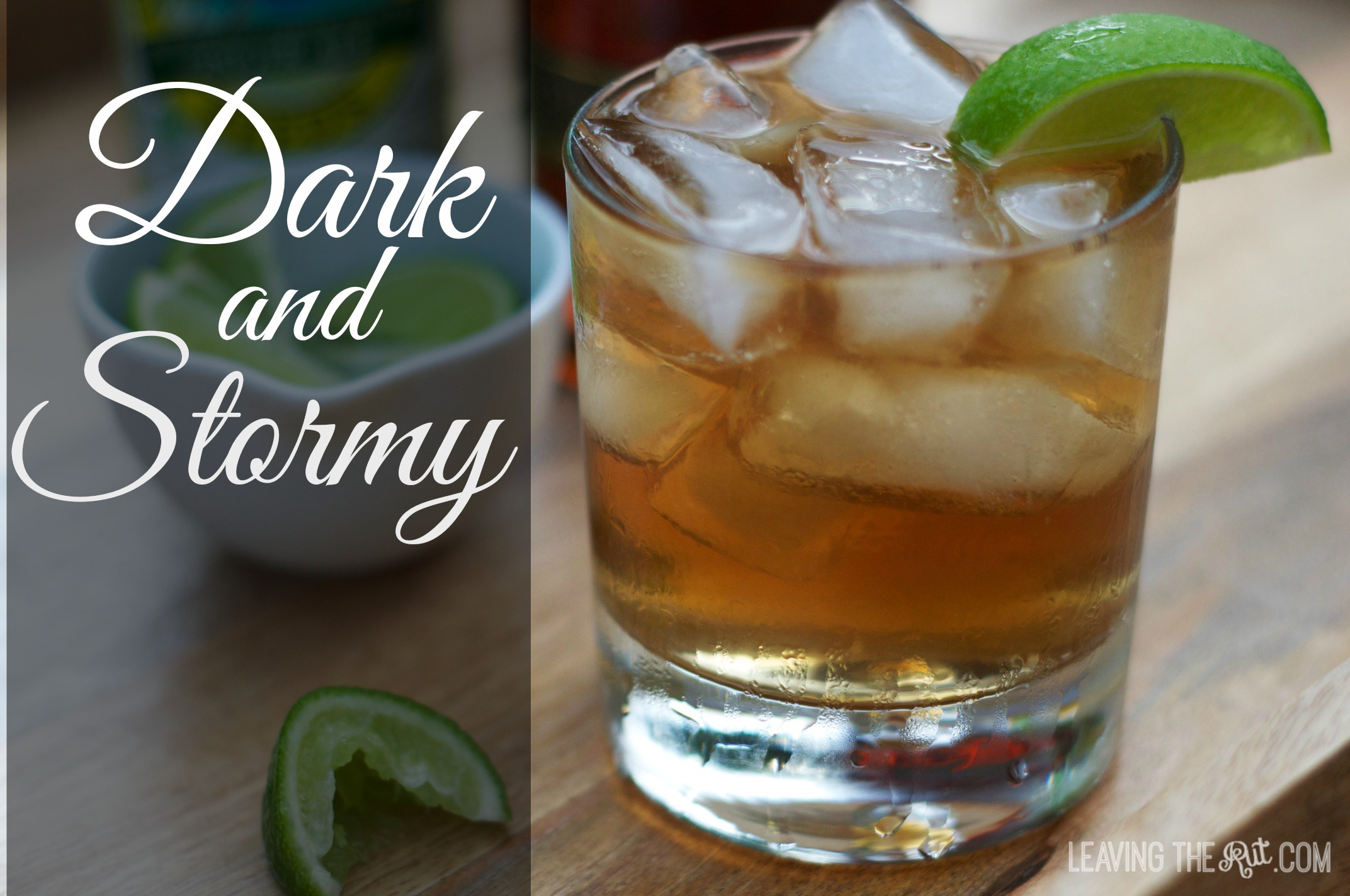 Dark and Stormy at the Friday Afternoon Happy Hour