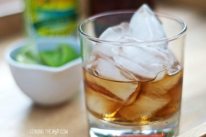 Dark and Stormy rum