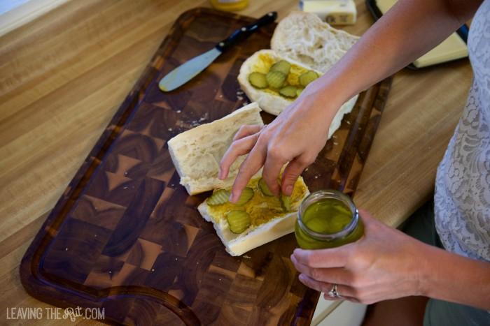 Real Cuban Sandwich pickels