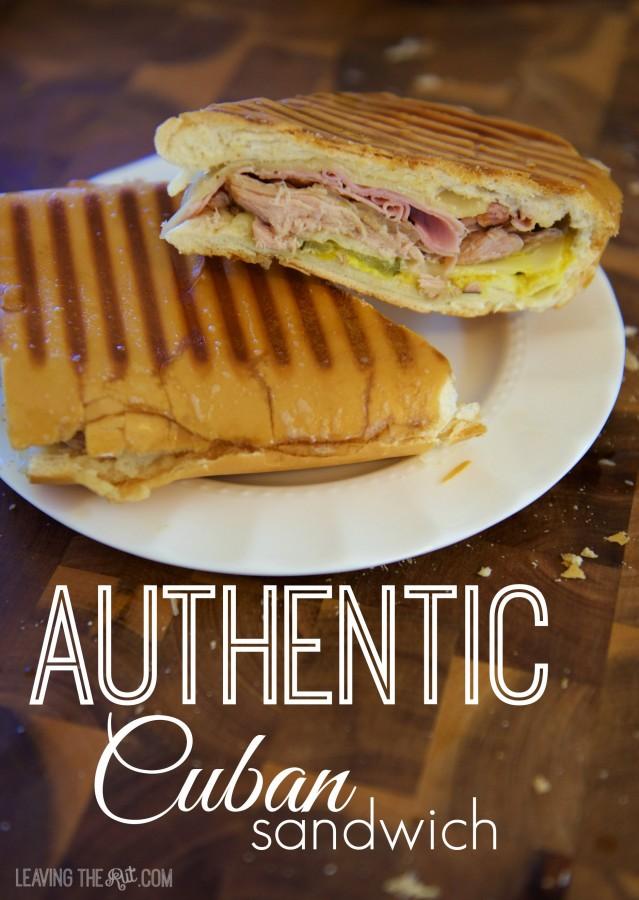 Real Cuban Sandwich pin