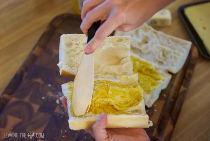Real Cuban Sandwich spread mustard