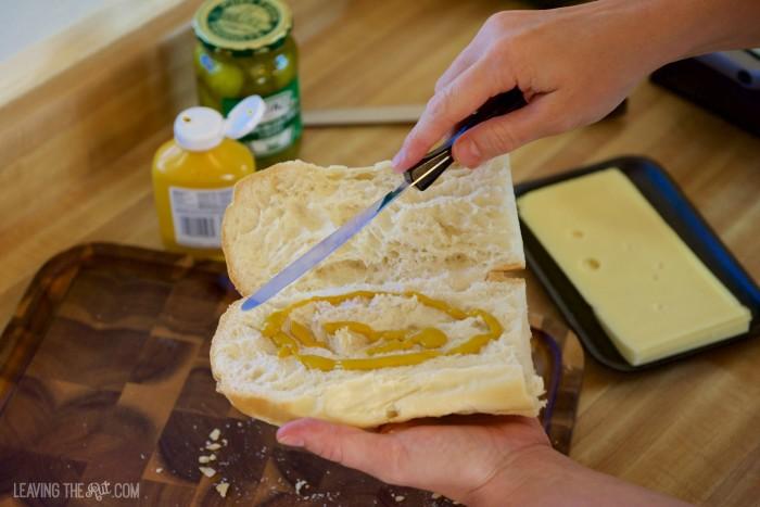 Real Cuban Sandwiches mustard
