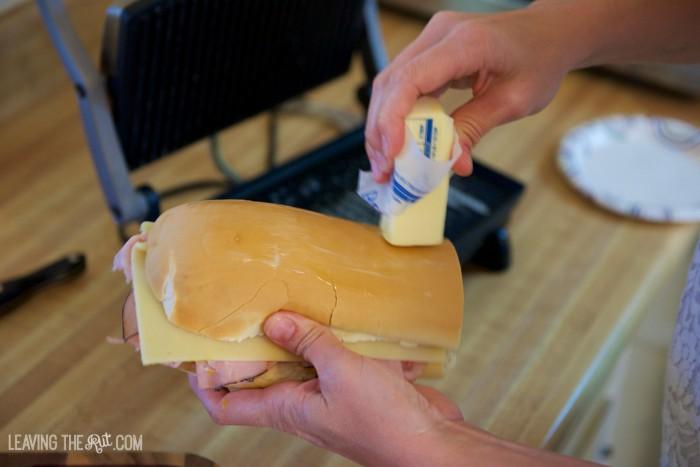 Real Cuban sandwich more butter