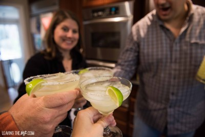 Basil Lime Margaritas