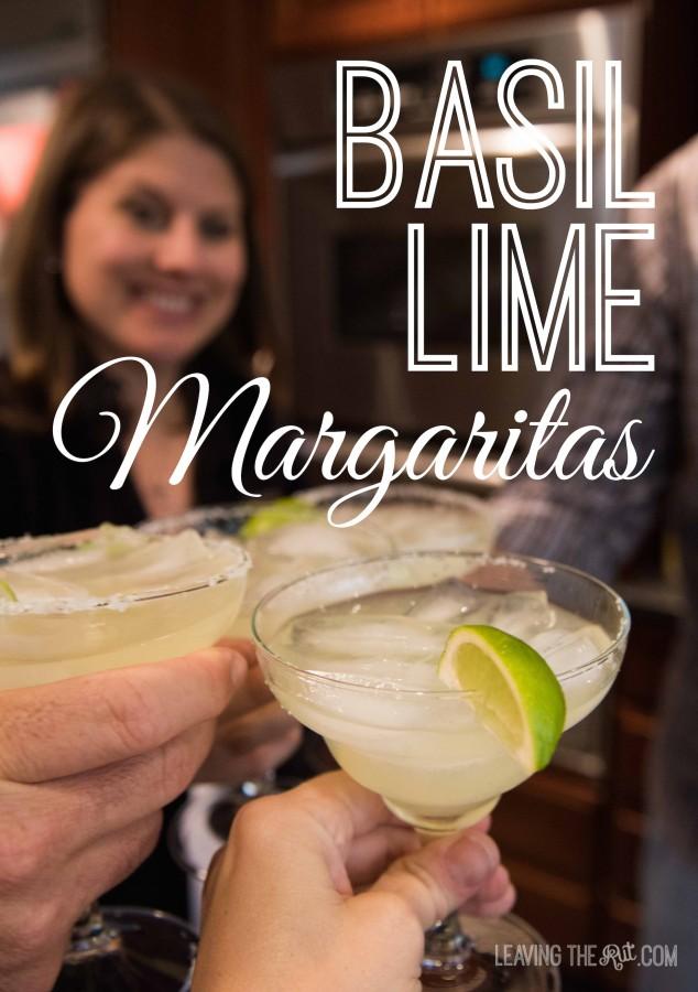 Basil Lime Margaritas Pin
