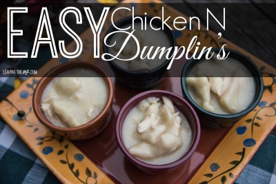 Easy Chicken N Dumplin's
