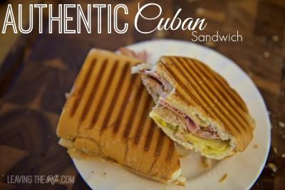 REAL Authentic Cuban Sandwich